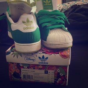Superstar adidas Kermit